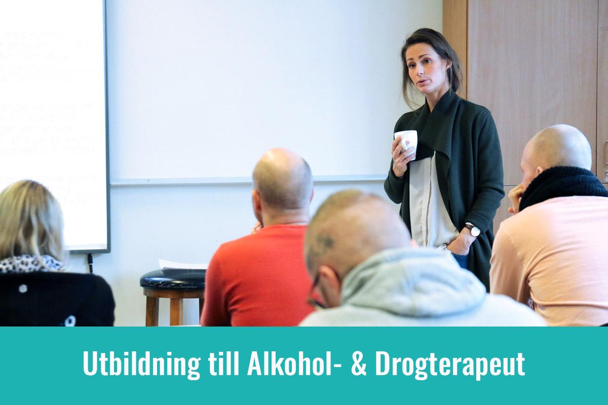 utbildning till alkohol & drogterapeut